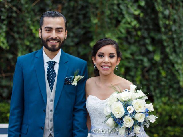 La boda de Abigail y Luis