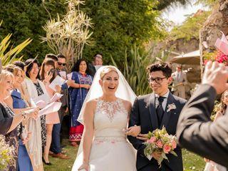 La boda de Ari y Dani