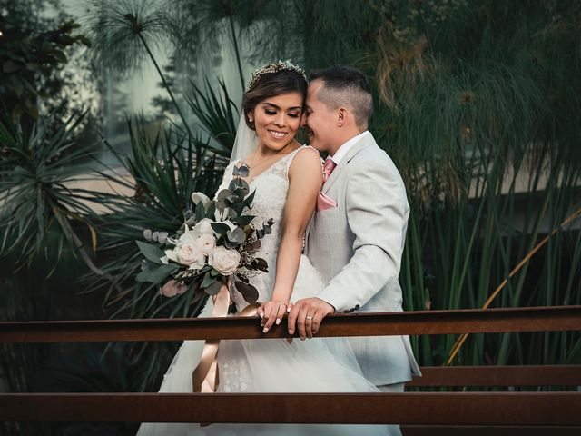 La boda de Pam y Luis