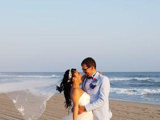 La boda de Gustavo y Abril 1