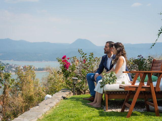 La boda de Alan y Ana Sofia en Valle de Bravo, Estado México 27