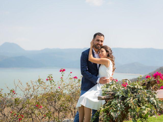 La boda de Alan y Ana Sofia en Valle de Bravo, Estado México 35