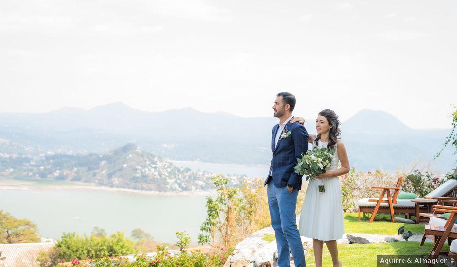 La boda de Alan y Ana Sofia en Valle de Bravo, Estado México