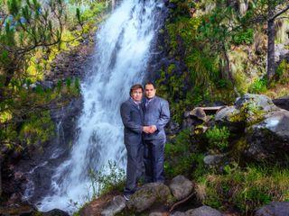 La boda de Pratik y Sergio