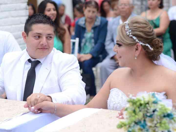 La boda de Norma  y Adolfo