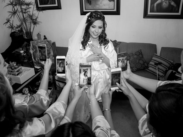 La boda de Andrés y Paulina en Iztapalapa, Ciudad de México 15
