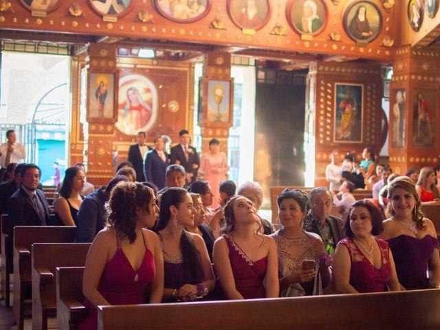 La boda de Andrés y Paulina en Iztapalapa, Ciudad de México 35