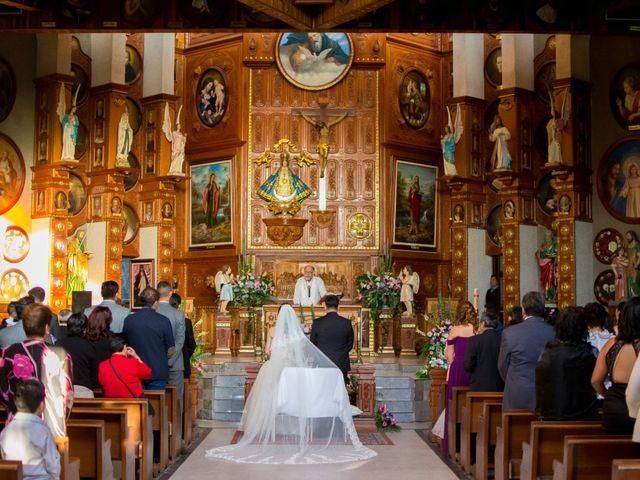 La boda de Andrés y Paulina en Iztapalapa, Ciudad de México 37
