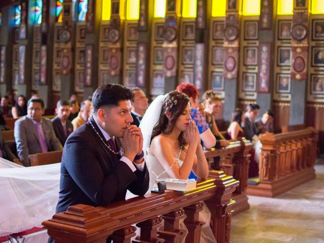 La boda de Andrés y Paulina en Iztapalapa, Ciudad de México 45