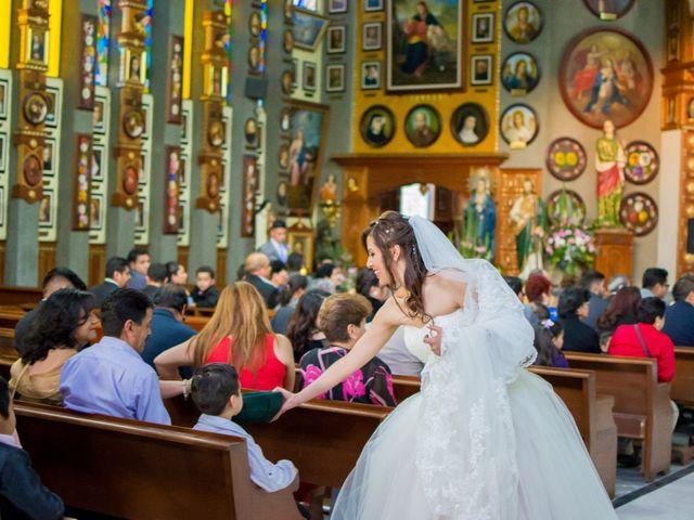 La boda de Andrés y Paulina en Iztapalapa, Ciudad de México 47