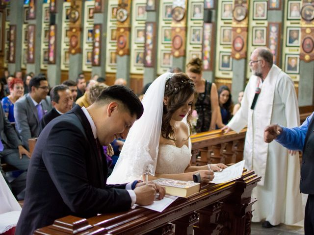 La boda de Andrés y Paulina en Iztapalapa, Ciudad de México 48