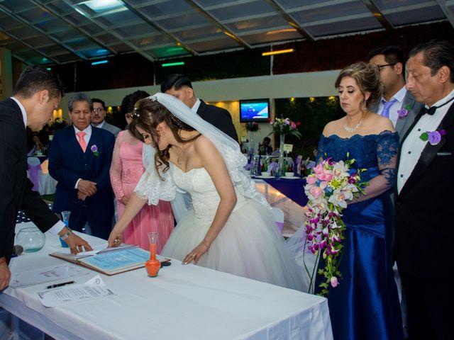 La boda de Andrés y Paulina en Iztapalapa, Ciudad de México 54