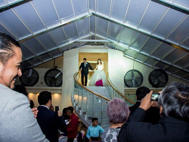 La boda de Andrés y Paulina en Iztapalapa, Ciudad de México 60