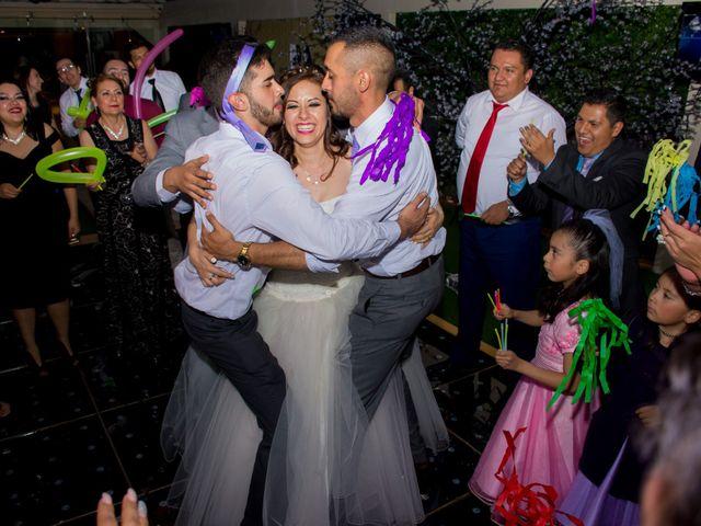 La boda de Andrés y Paulina en Iztapalapa, Ciudad de México 82