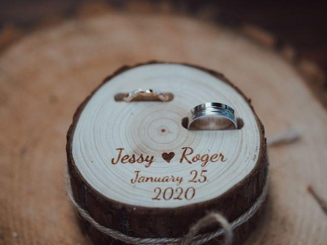 La boda de Roger y Jessica en Cuajimalpa, Ciudad de México 11