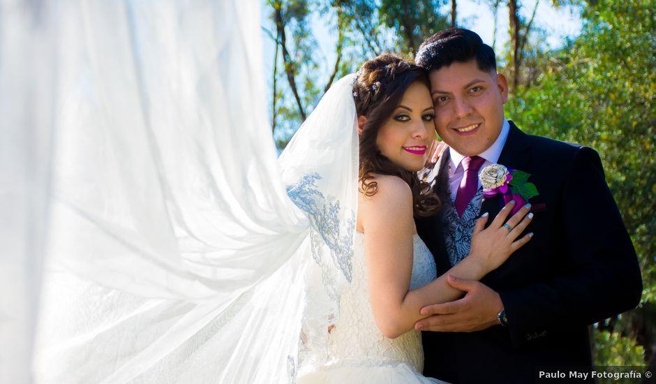 La boda de Andrés y Paulina en Iztapalapa, Ciudad de México