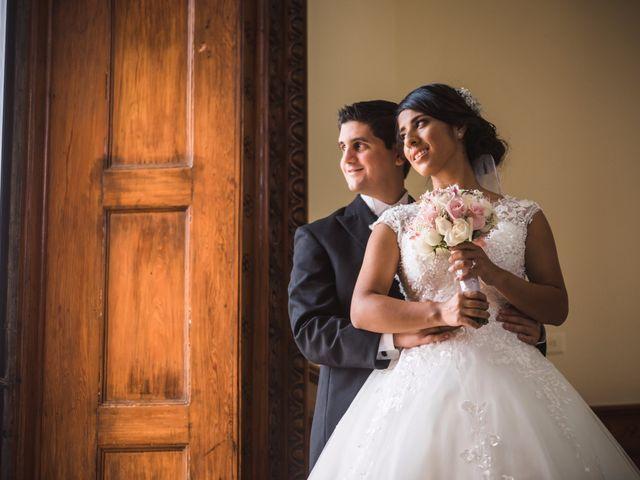 La boda de Sarahí y David