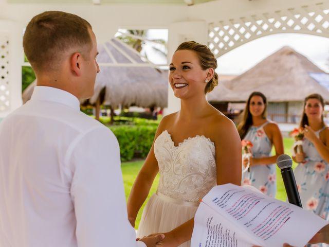 La boda de Kevin y Rachel en Playa del Carmen, Quintana Roo 32