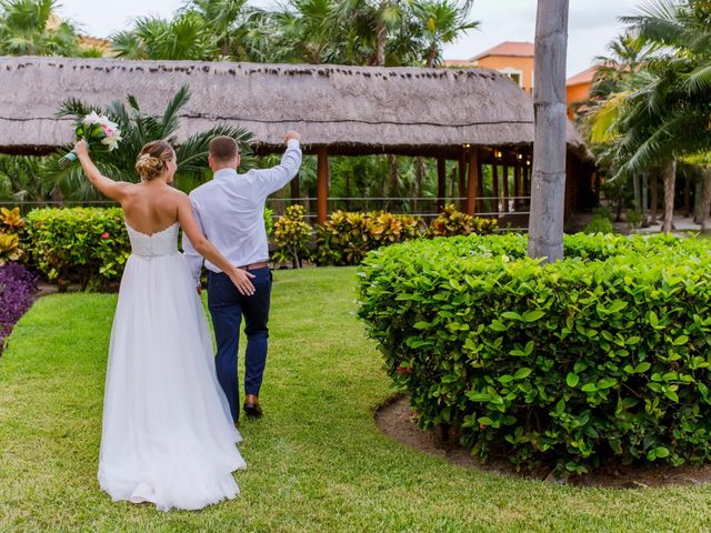 La boda de Kevin y Rachel en Playa del Carmen, Quintana Roo 40