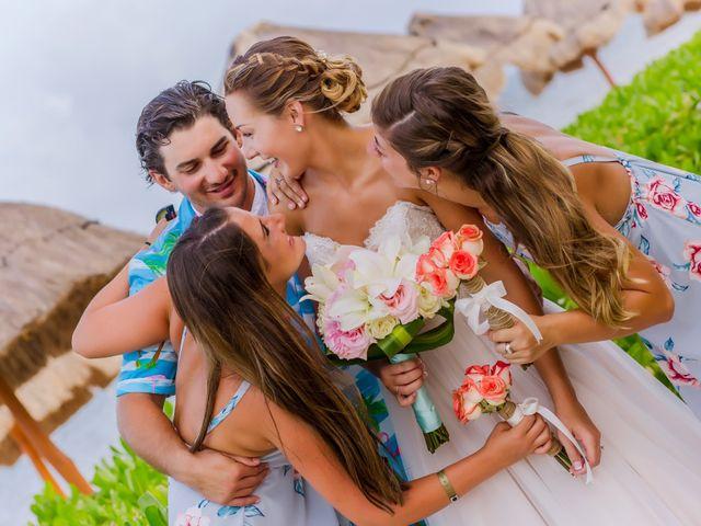 La boda de Kevin y Rachel en Playa del Carmen, Quintana Roo 21