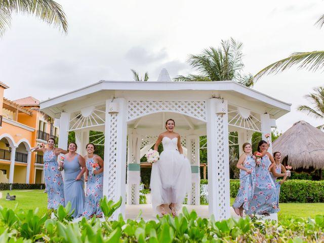 La boda de Kevin y Rachel en Playa del Carmen, Quintana Roo 14