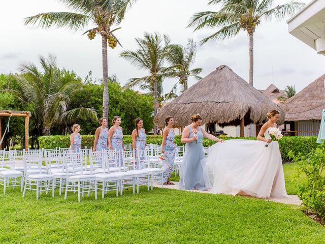 La boda de Kevin y Rachel en Playa del Carmen, Quintana Roo 15