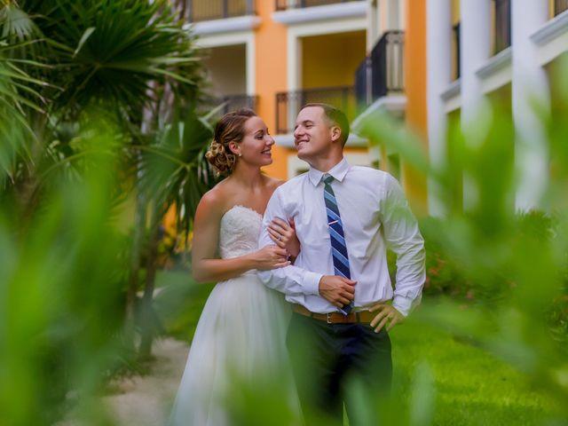 La boda de Kevin y Rachel en Playa del Carmen, Quintana Roo 37