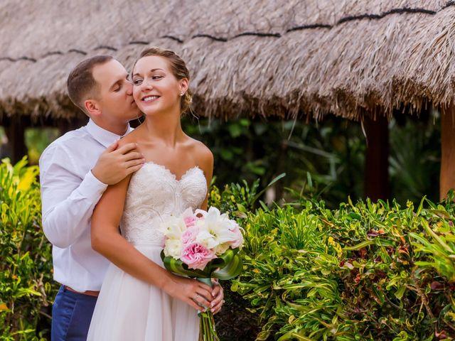 La boda de Kevin y Rachel en Playa del Carmen, Quintana Roo 41