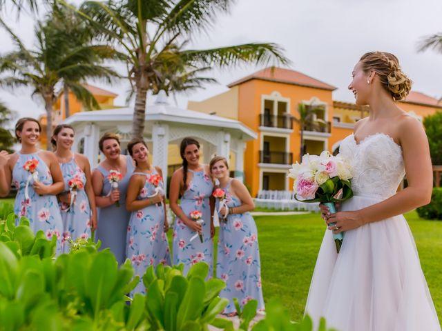La boda de Kevin y Rachel en Playa del Carmen, Quintana Roo 16