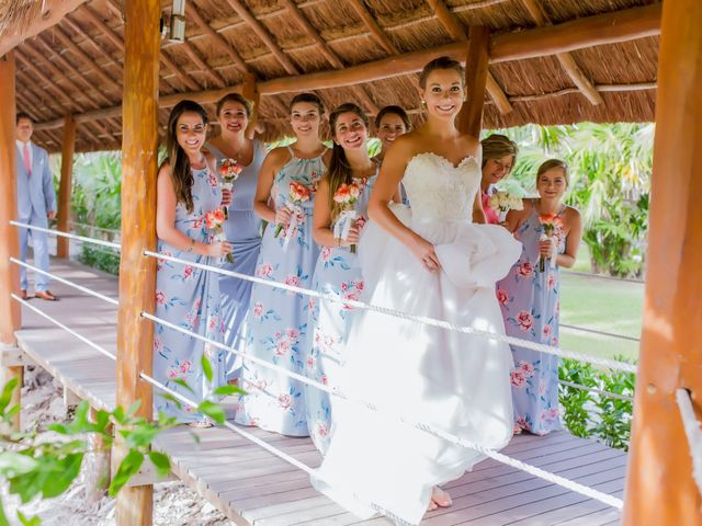 La boda de Kevin y Rachel en Playa del Carmen, Quintana Roo 18