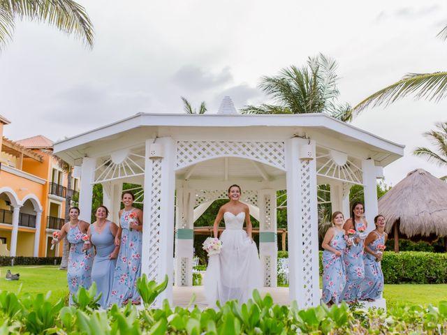 La boda de Kevin y Rachel en Playa del Carmen, Quintana Roo 13