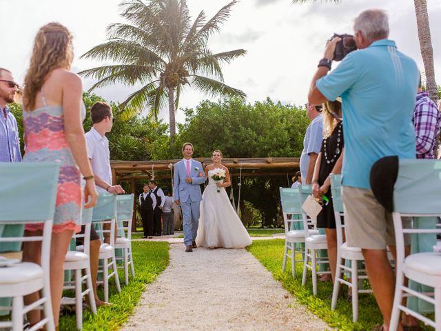 La boda de Kevin y Rachel en Playa del Carmen, Quintana Roo 25