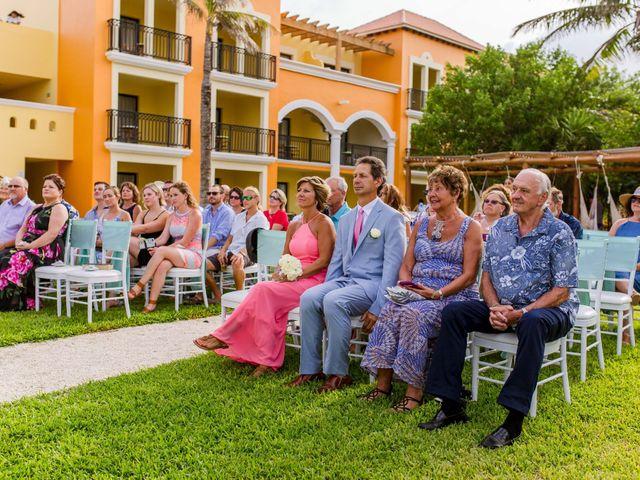 La boda de Kevin y Rachel en Playa del Carmen, Quintana Roo 24