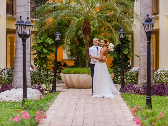 La boda de Kevin y Rachel en Playa del Carmen, Quintana Roo 42
