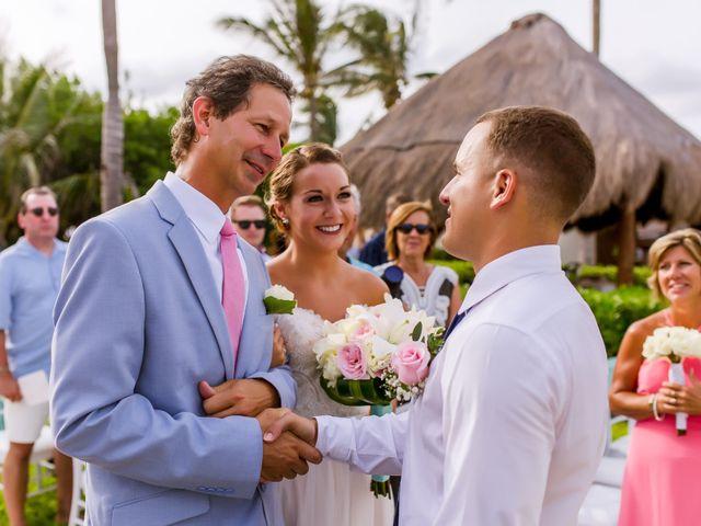 La boda de Kevin y Rachel en Playa del Carmen, Quintana Roo 28
