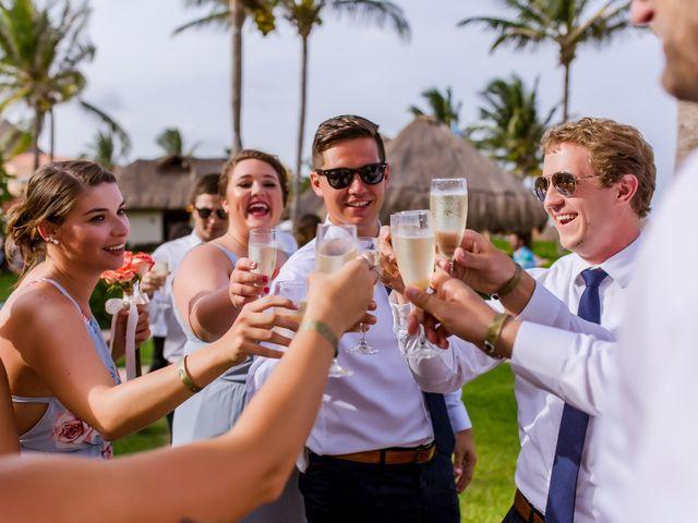 La boda de Kevin y Rachel en Playa del Carmen, Quintana Roo 45
