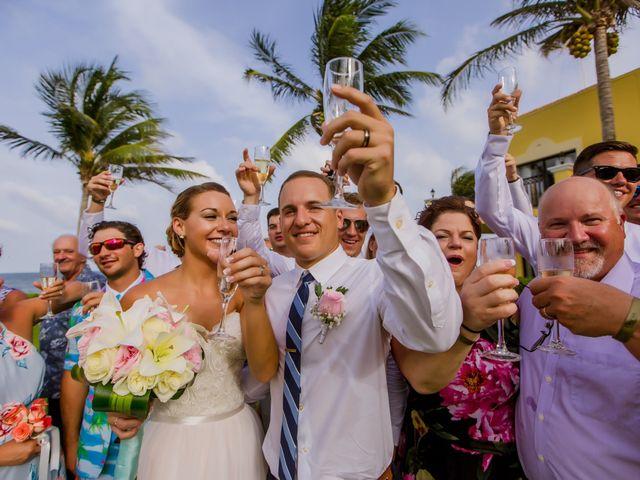La boda de Kevin y Rachel en Playa del Carmen, Quintana Roo 48