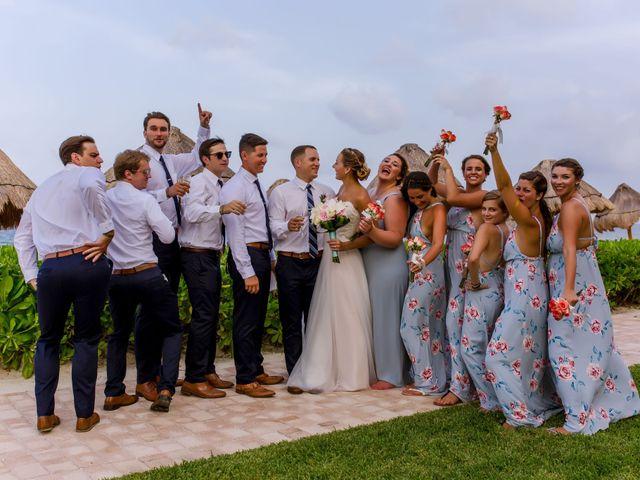 La boda de Kevin y Rachel en Playa del Carmen, Quintana Roo 55