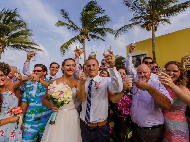 La boda de Kevin y Rachel en Playa del Carmen, Quintana Roo 49