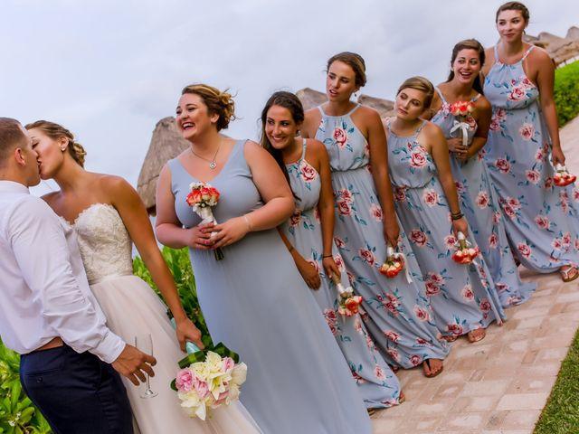 La boda de Kevin y Rachel en Playa del Carmen, Quintana Roo 54