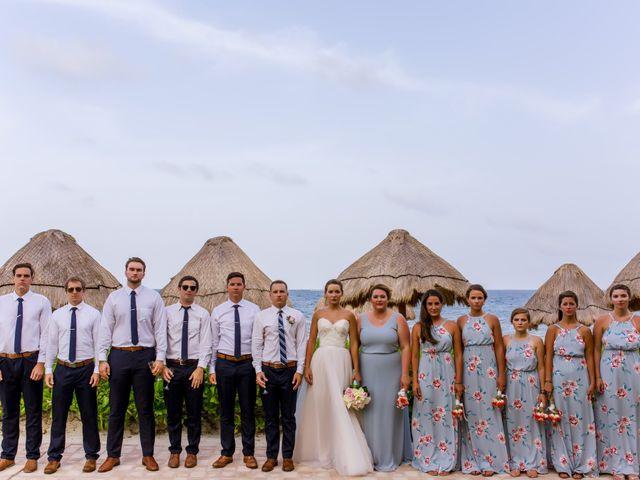 La boda de Kevin y Rachel en Playa del Carmen, Quintana Roo 56