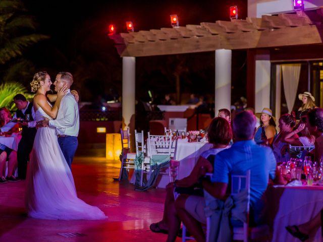 La boda de Kevin y Rachel en Playa del Carmen, Quintana Roo 63