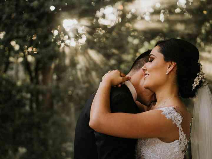 La boda de Cindy y René
