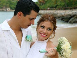 La boda de Alyeira y Robert