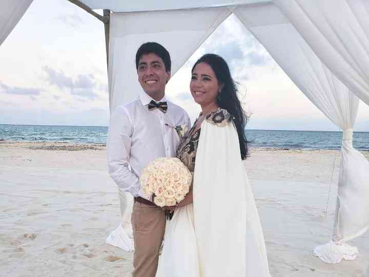 La boda de Nicolás y Agustina
