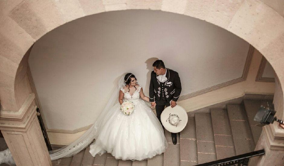 La boda de Juan Miguel y Lizeth en San Luis Potosí, San Luis Potosí
