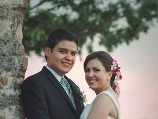 La boda de Claudia y Marcos