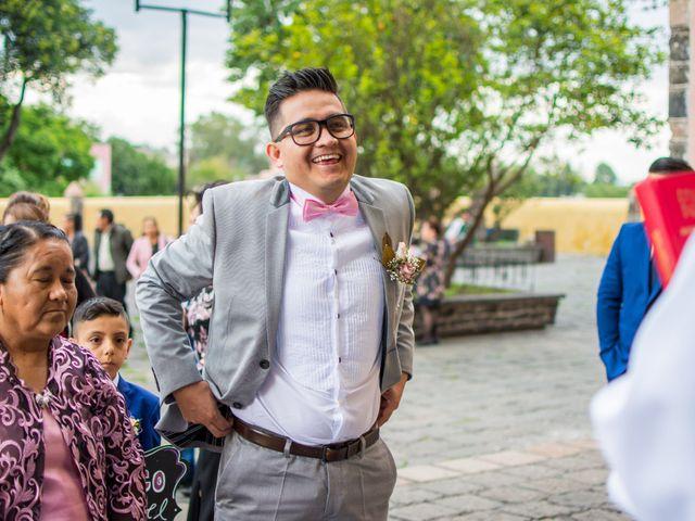 La boda de Marco y Yuliana en Xochimilco, Ciudad de México 12