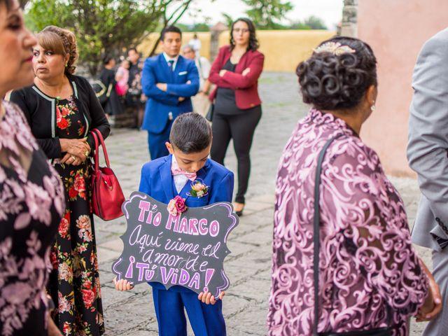 La boda de Marco y Yuliana en Xochimilco, Ciudad de México 13