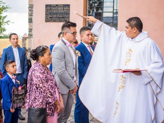 La boda de Marco y Yuliana en Xochimilco, Ciudad de México 14